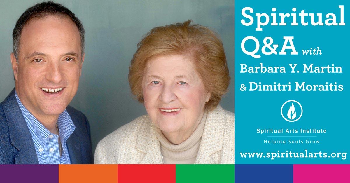 June Q & A with Barbara And Dimitri SAI