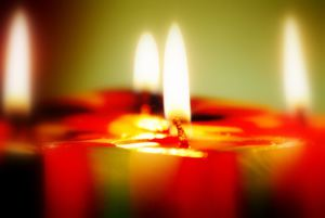 power of candles in meditation